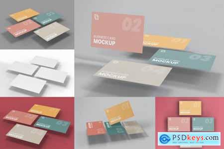 Business Card Mockup Vol 08