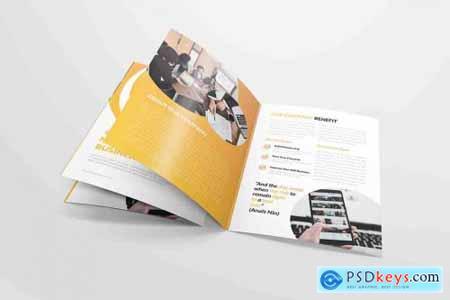 Market Business - Bifold Brochure
