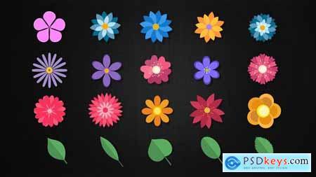 20 Floral Elements 23898514