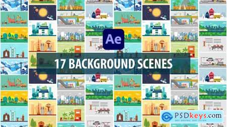 Background Scenes - After Effects 30318431