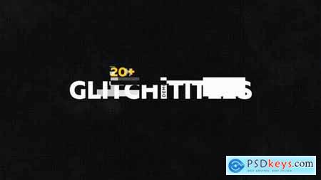 Glitch Titles Pack 20+ 19458340