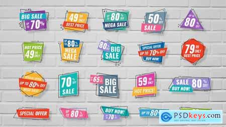 20 Sale Banners 23841572