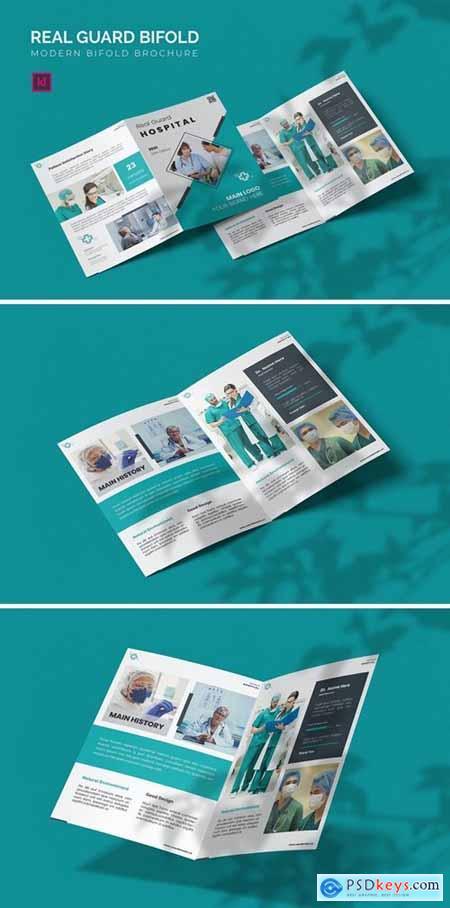 Real Guard Hospital - Bifold Brochure