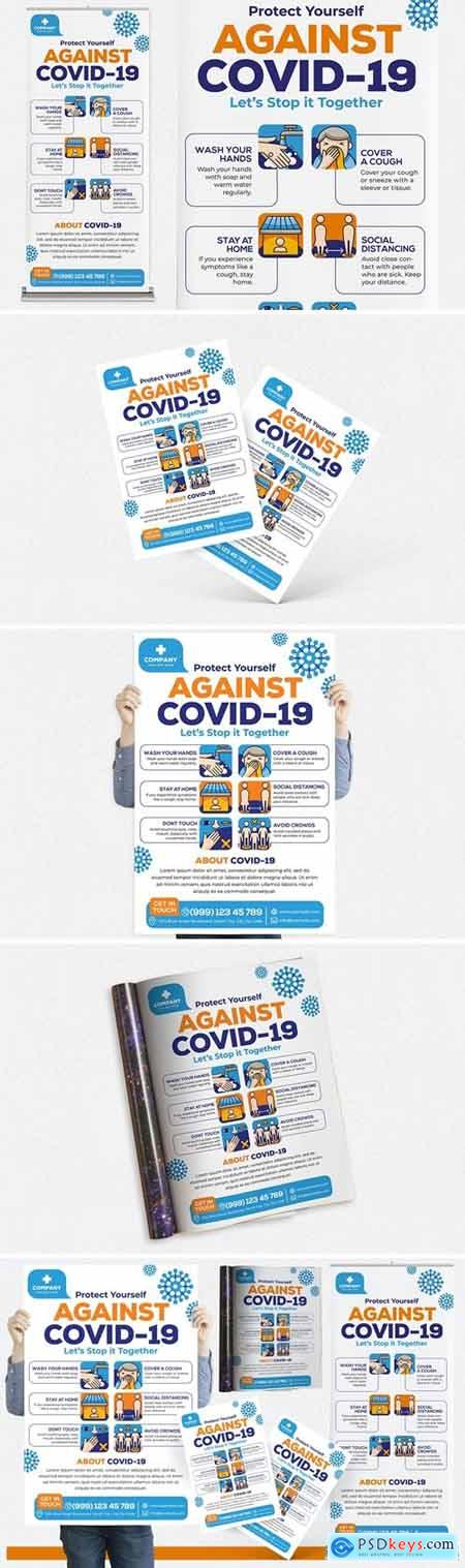 Covid-19 #04 Print Templates Pack