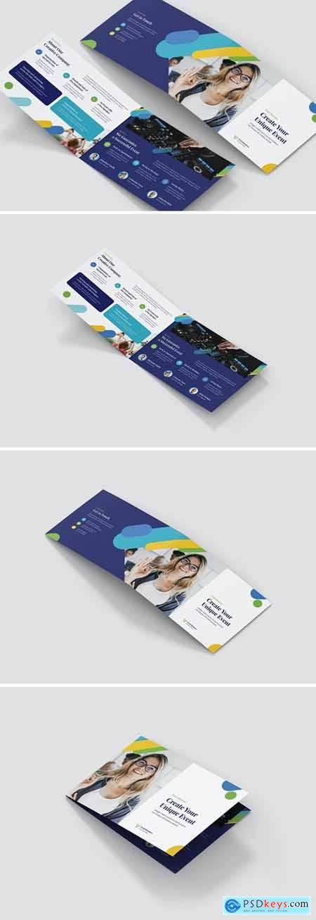 Brochure – Event Business Bi-Fold A5 Landscape