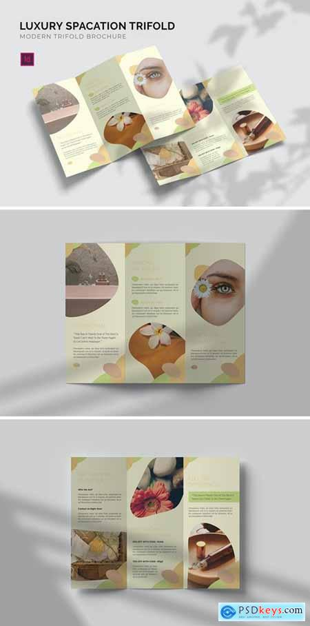 Luxury Spacation - Trifold Brochure
