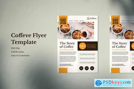 Coffe Robusta Flyer Template