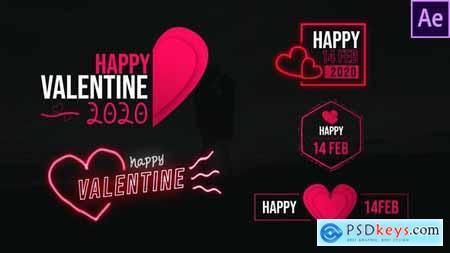 Valentine Clean Titles 30333562