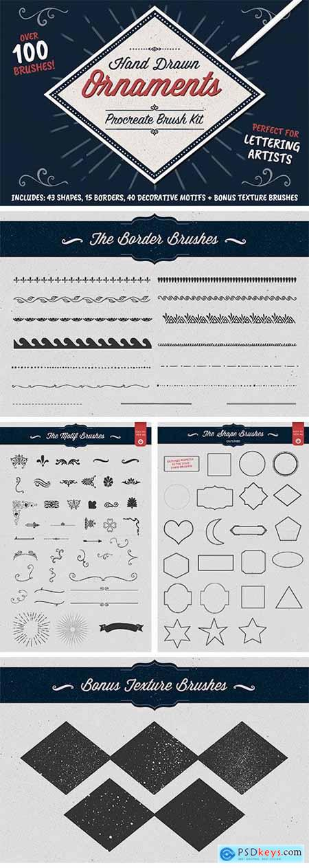 Shape and Ornament Brushes for Procreate 339338