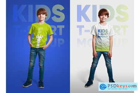 Kids Boy T-Shirt Mockups Part 1 5336705