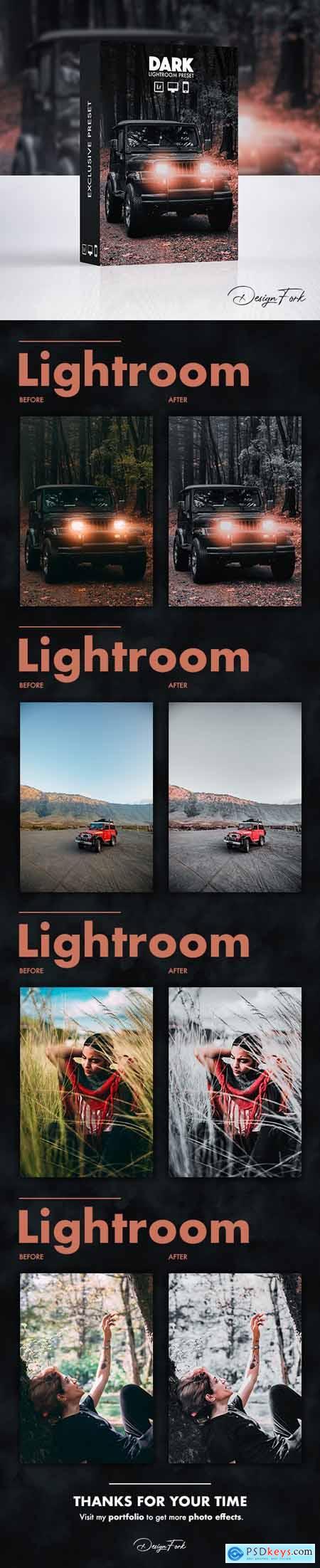 Dark Effect - Lightroom Preset 30069192
