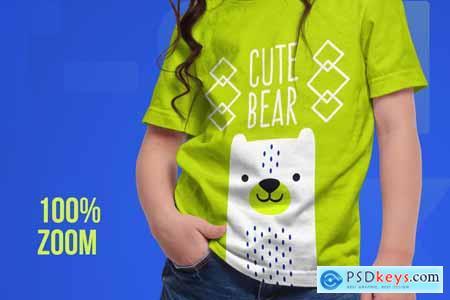 Kids T-Shirt Mockups 5336558