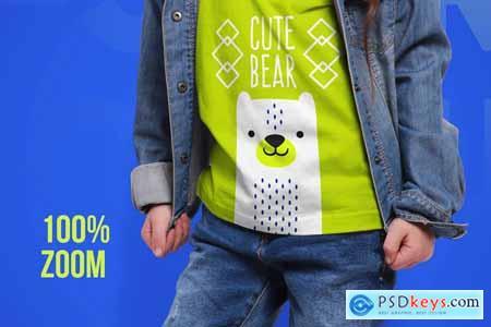 Kids T-Shirt Mockups Part 2 5336582