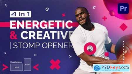 Energetic And Creative Stomp Opener Mogrt 30269737