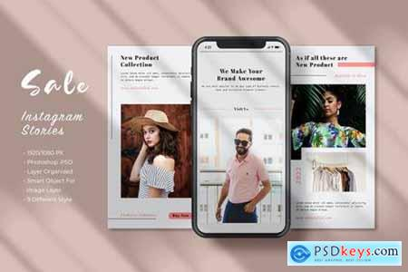 Fashion Sale Social Stories - Vol 02