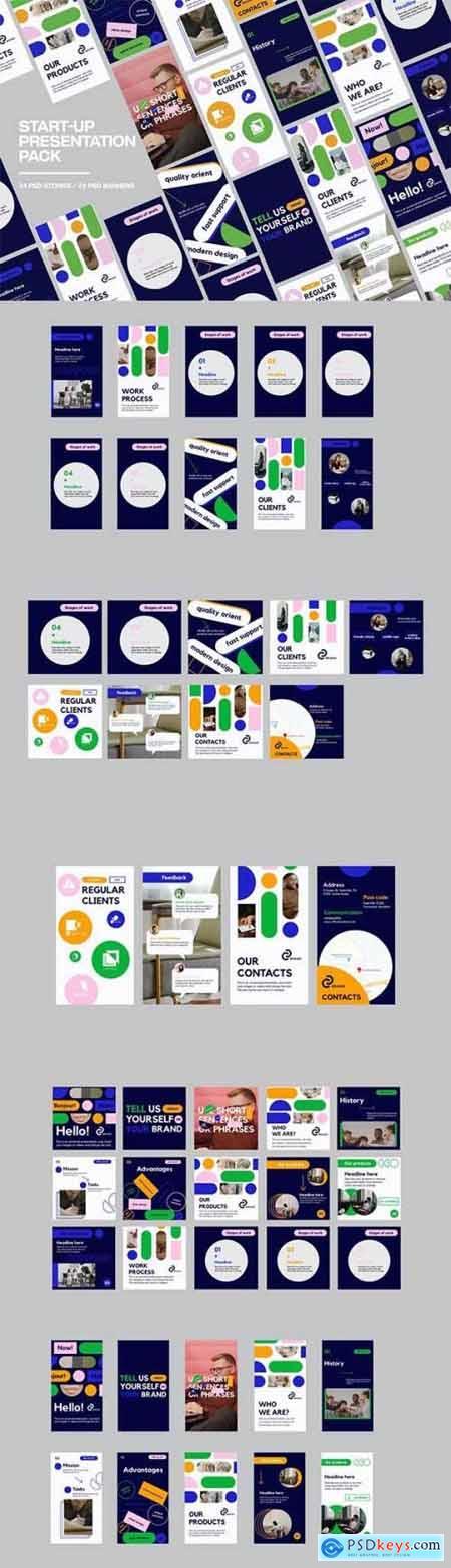 Start-Up Presentation Pack