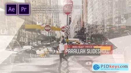 Abstract Parallax Slideshow Opener 30265409