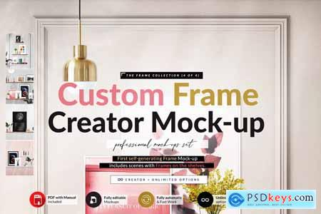 Automatic Frame with Shelves Creator 5827596