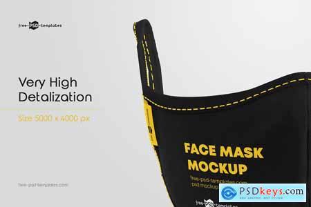 Face Mask Mockup Set 5720147