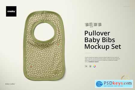 Pullover Bibs Mockup Set 4280350