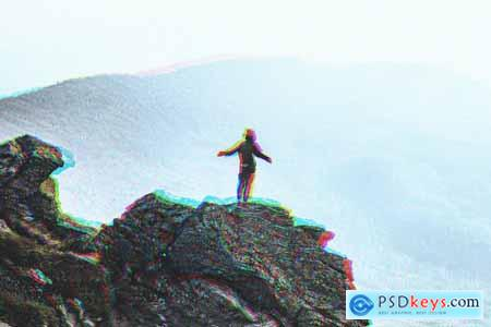 VHS Glitch Effect for Photoshop 5858007