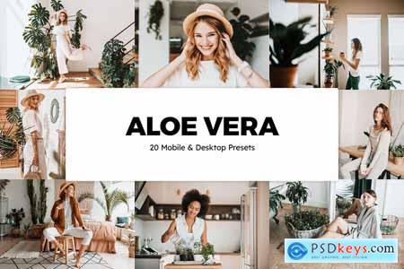 20 Aloe Vera Lightroom Presets & LUTs 5861842
