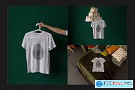 T-Shirt Mock-Up Set 5800842
