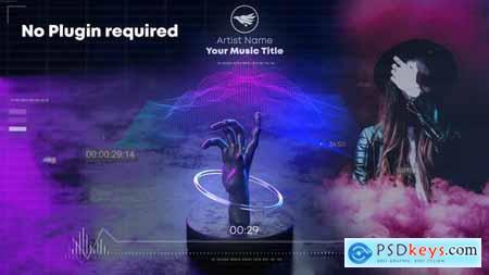 Hand Wave Music Visualizer 30364228
