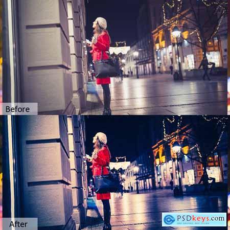 Night Life Photoshop Actions 5733436