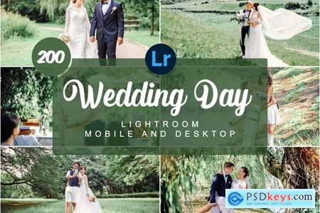 Wedding Day Mobile PRESETS 5736477