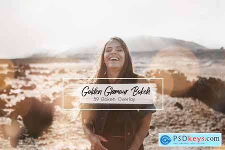 59 Golden Glamour Bokeh Lights 5788555