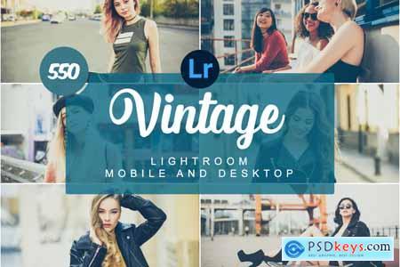Vintage Mobile and Desktop PRESETS 5736472