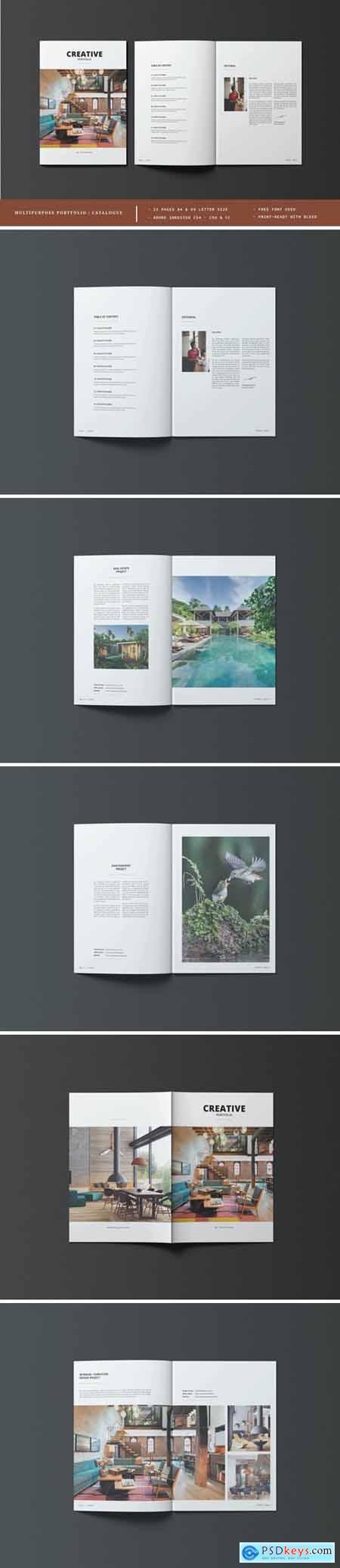 Multipurpose Portfolio - Catalogue