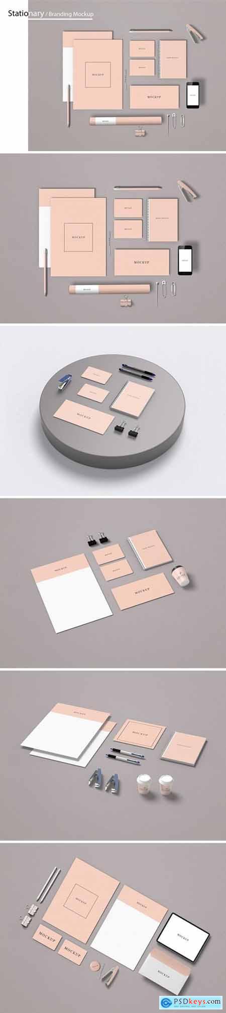 Stationery - Branding Mockups