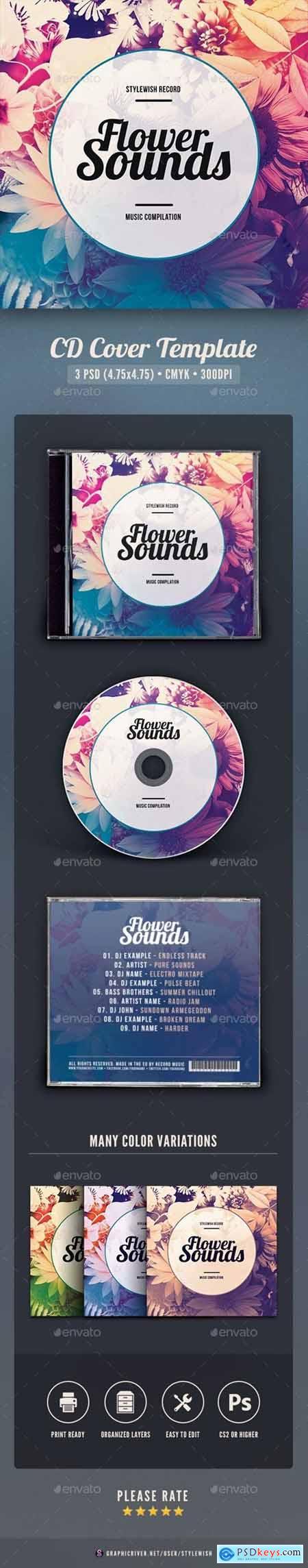 Flower Sounds CD Cover Artwork 30180393