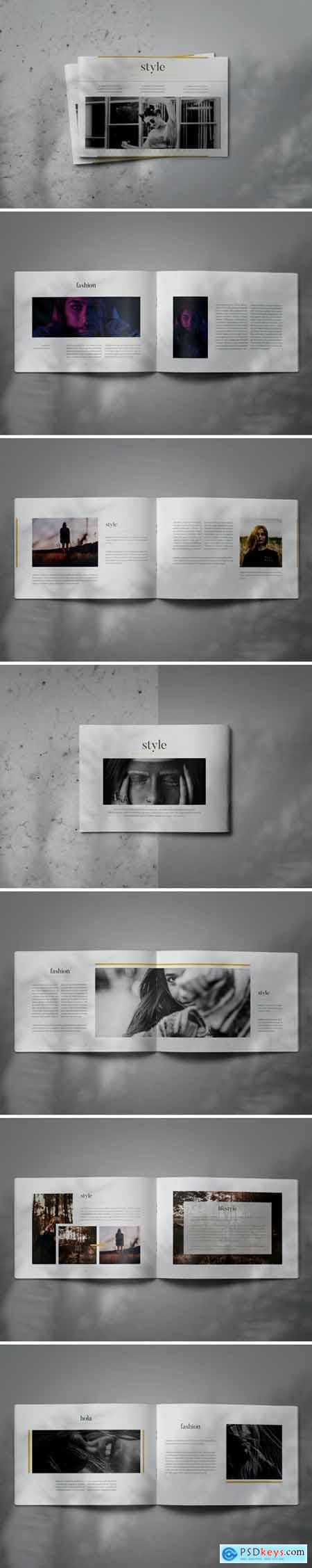 STYLE - Indesign Brochure Lookbook Template