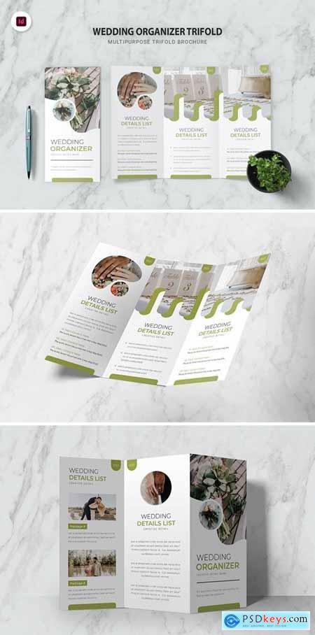 Wedding Organizer Trifold Brochure