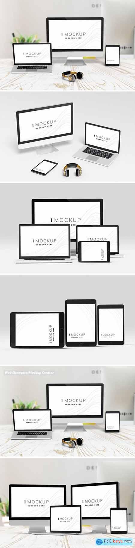 Web Showcase - Mockup Creator