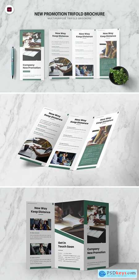 New Promotion Trifold Brochure