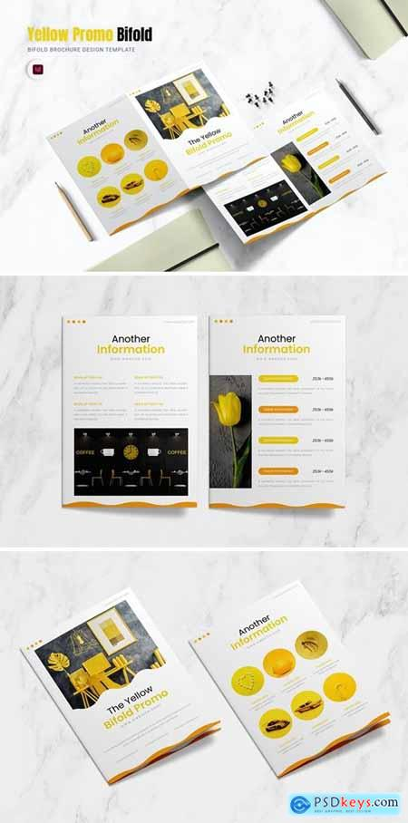 Yellow Promo Bifold Brochure