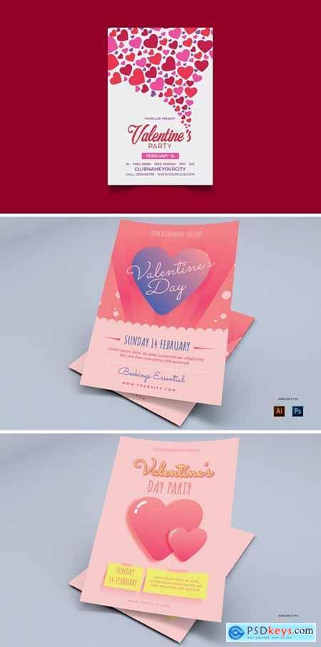 Valentine Day - Flyers Design