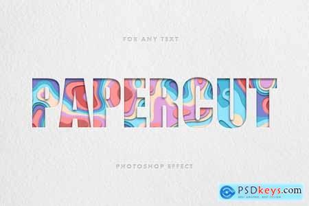 Papercut Text Effect 5857189