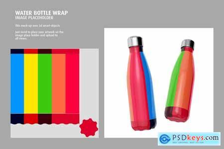 Stainless Steel Bottle Mock-up 5828056