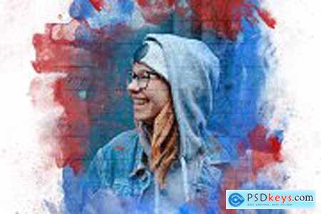 Mixed Art Photo Effect 5868897