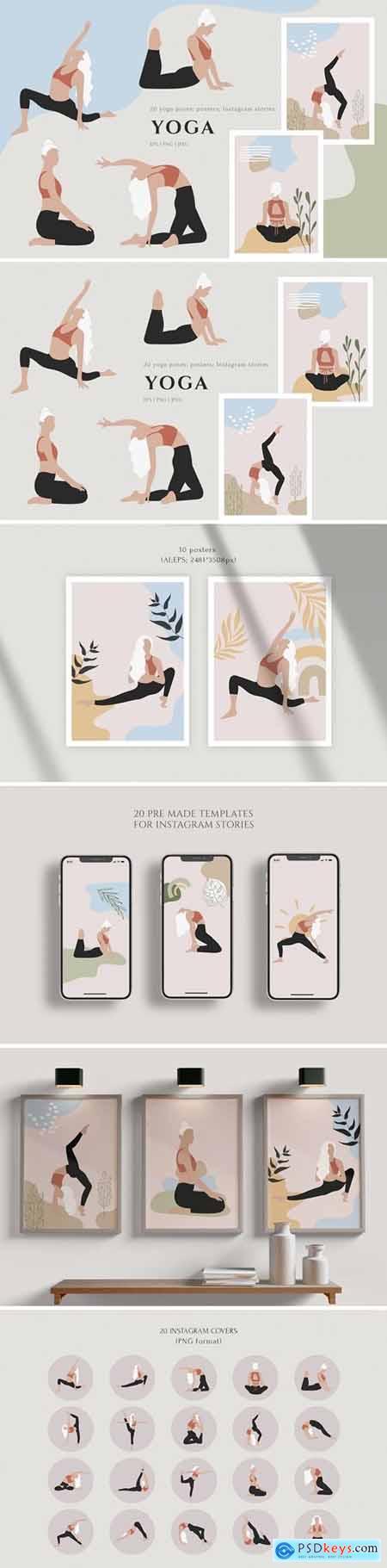 Yoga - Graphics Collection 5709152