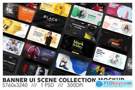Banner UI Scene Collection Cover