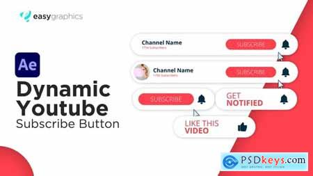 Dynamic Youtube Subscribe Button 30526087