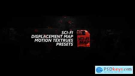 Sci-fi Displacement Map Motion Textrues Presets 27187546