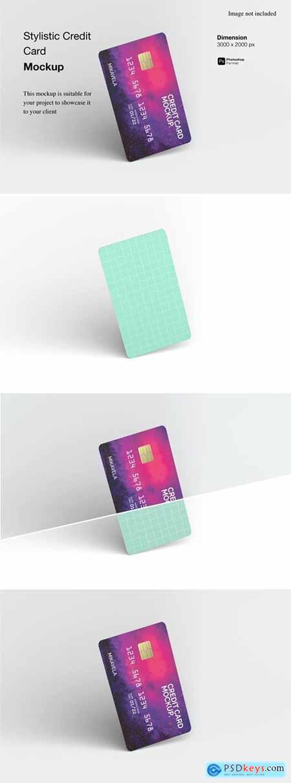 Stylistic Credit Card Mockup