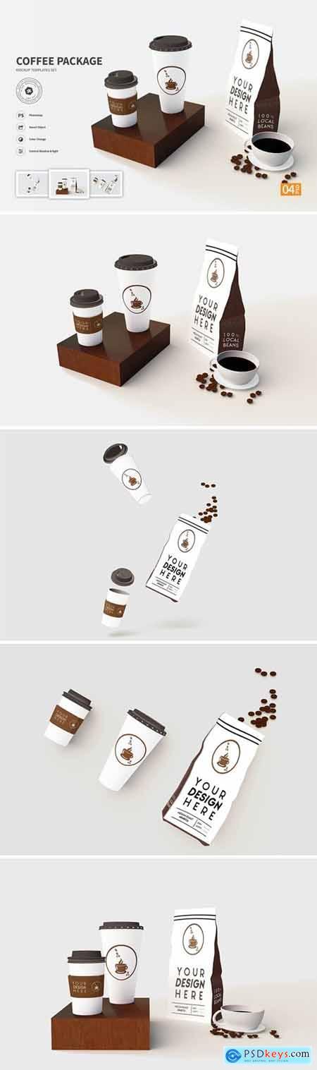 Coffee Package vol.01 - Mockup VR